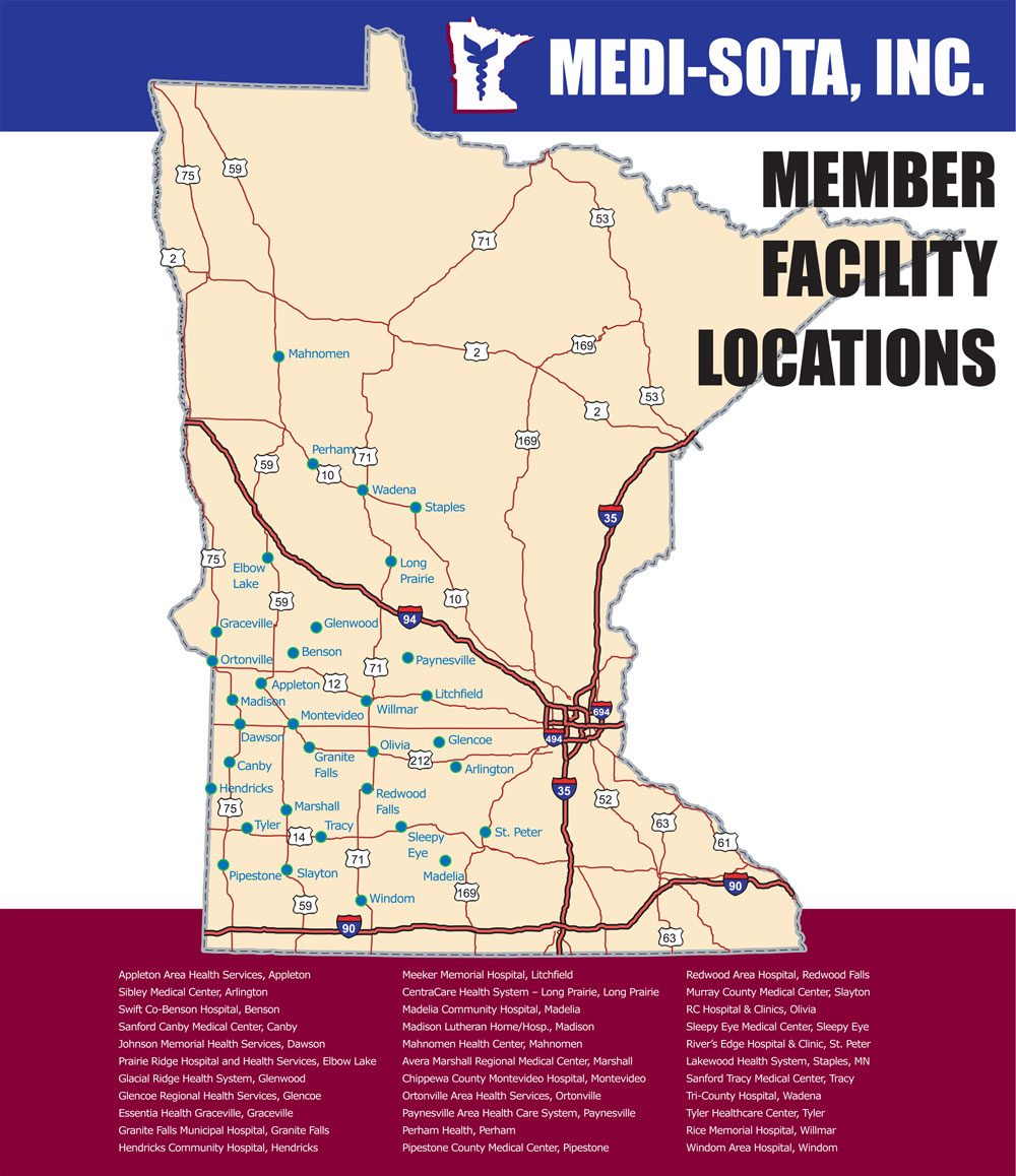 Medi Sota Member Map
